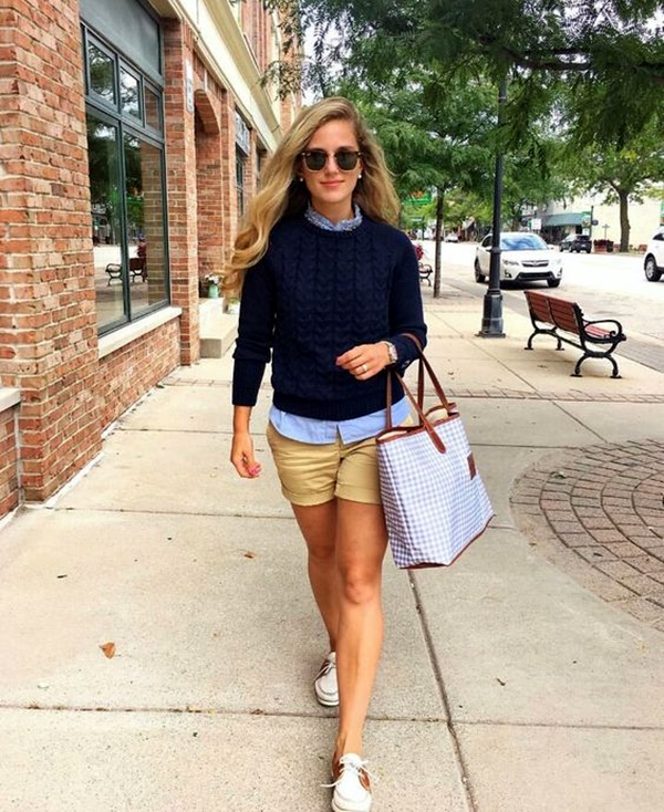 Preppy Summer Outfits and STYLE (8)
