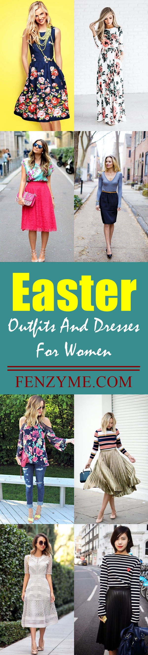 45 easter outfits and dresses for women to try this year for What day does easter fall on this year