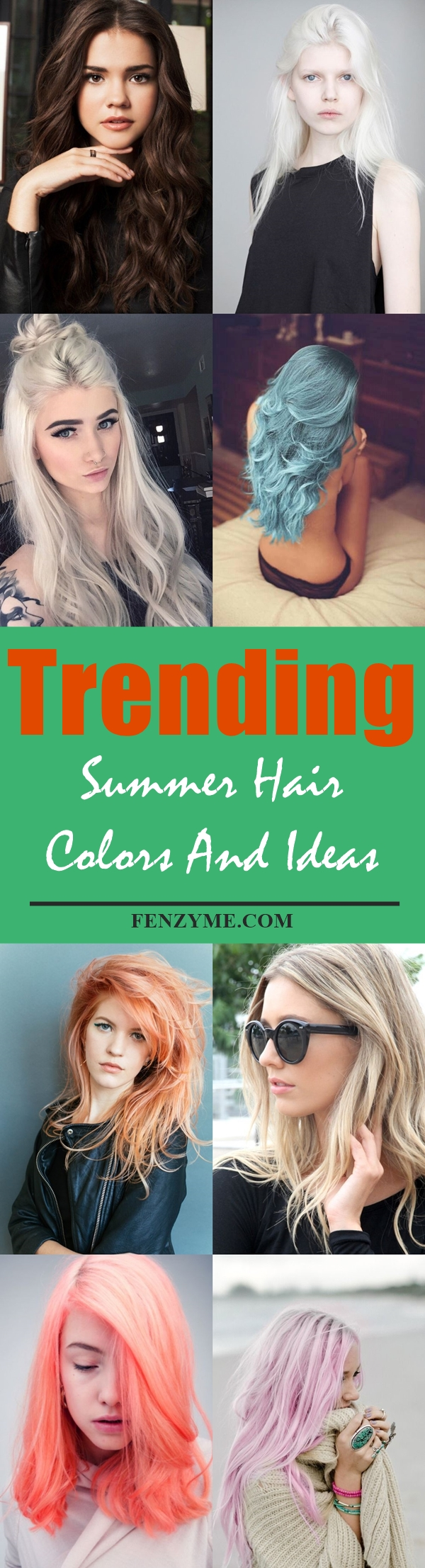 9 Trending Summer Hair Colors And Ideas For 2017