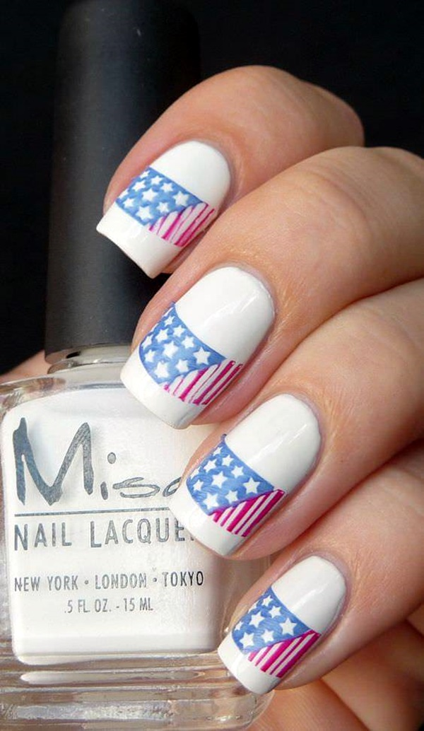 45 Patriotic Fourth of July Nails Designs