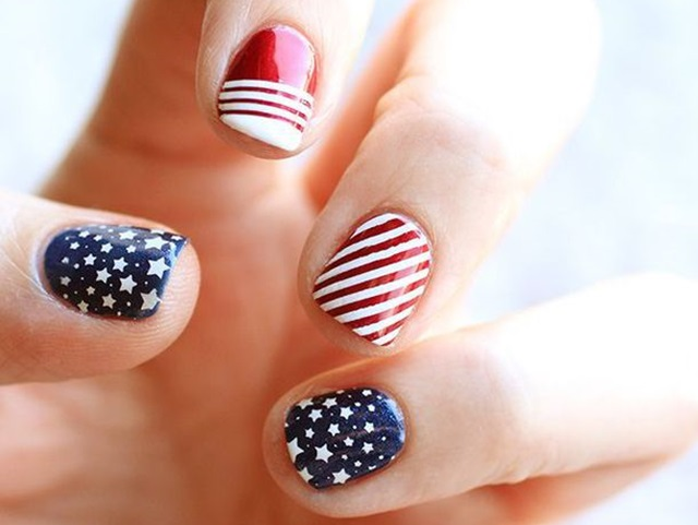Nail art archives fashion enzyme 45 patriotic fourth of july nails designs solutioingenieria Choice Image