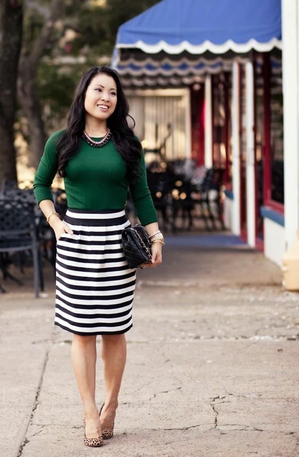 25 Stylish Ways To Wear Striped Outfits 2017