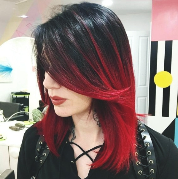 Different Shades of Red Hair Color