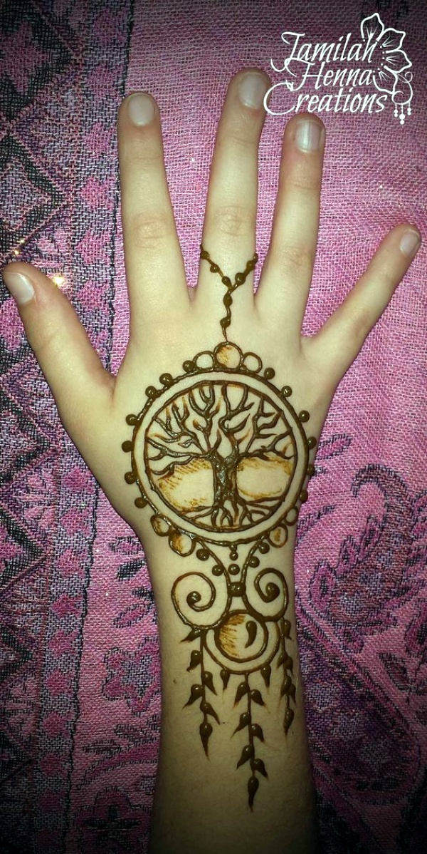 Henna Style Tattoo: 40 Beautiful And Simple Henna Designs For Hands