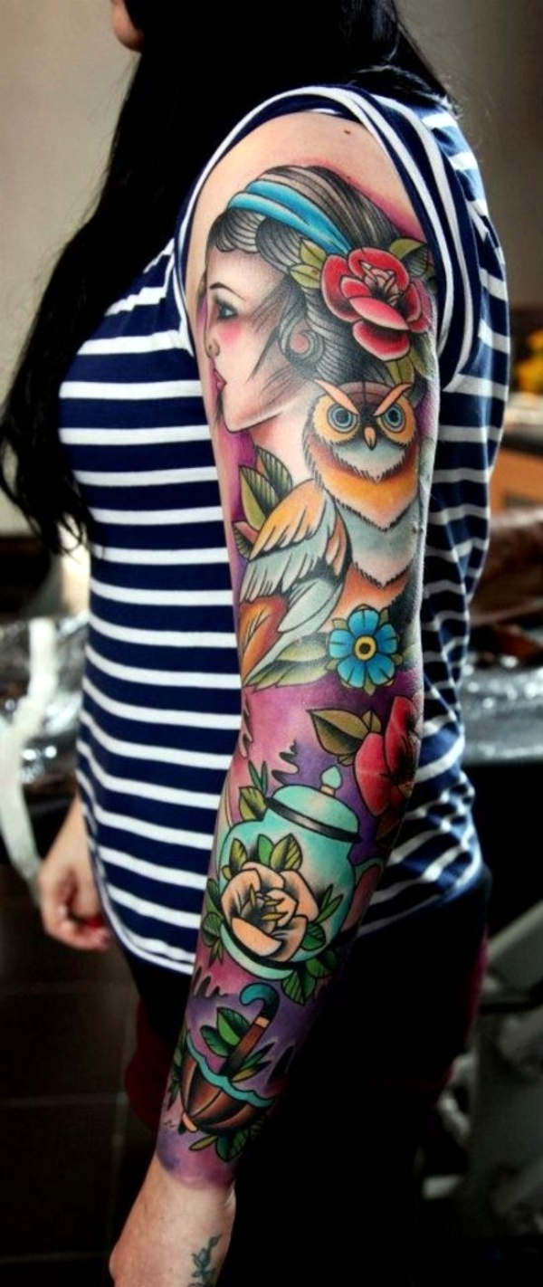 30 Traditional Gypsy Tattoo Ideas for Women to Try