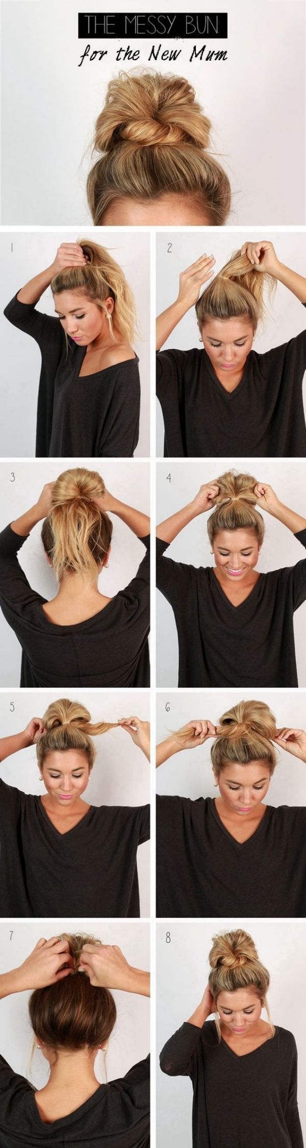 12 Very-Easy Hairstyles for Very-Busy Mornings