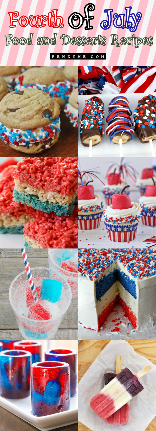 4th of July Food and Desserts Recipes1