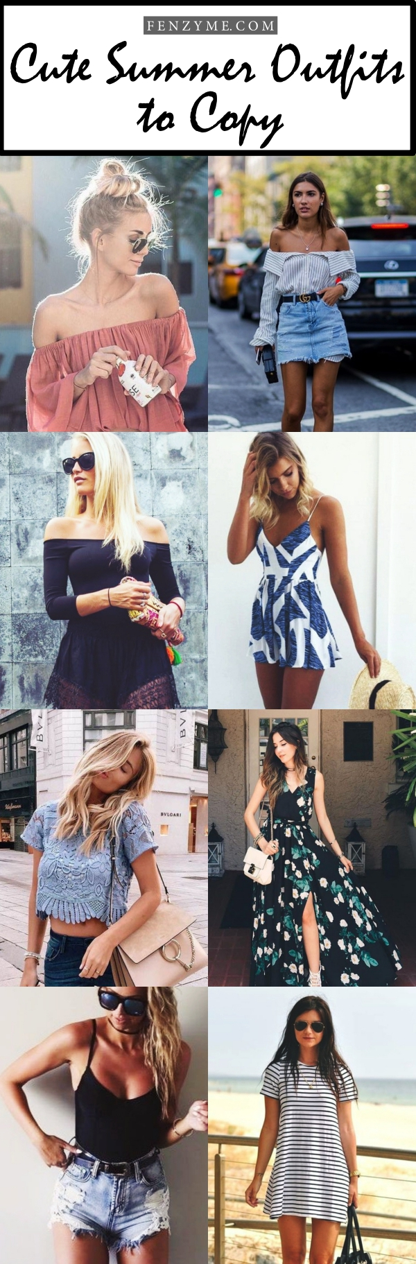 Cute Summer Outfits to Copy1