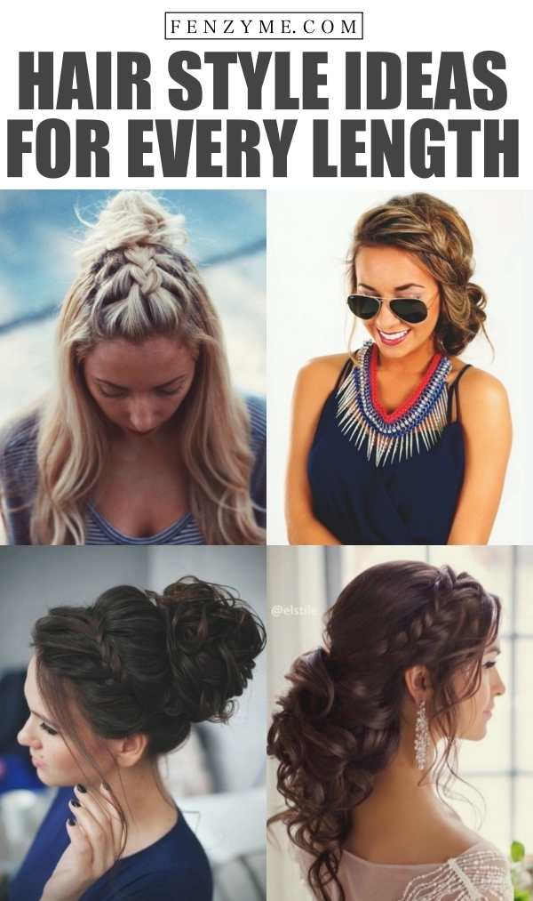 Hair Style Ideas 2017 for Every Length1