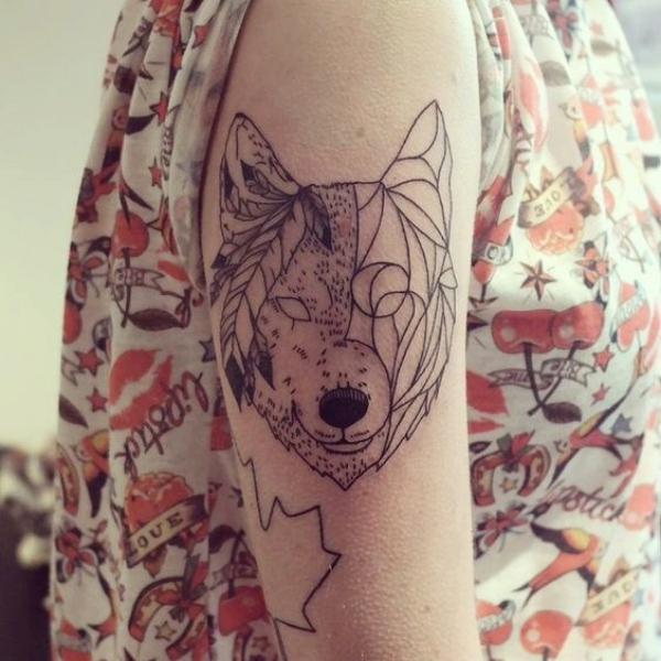 Wolf Tattoo Designs For Men4