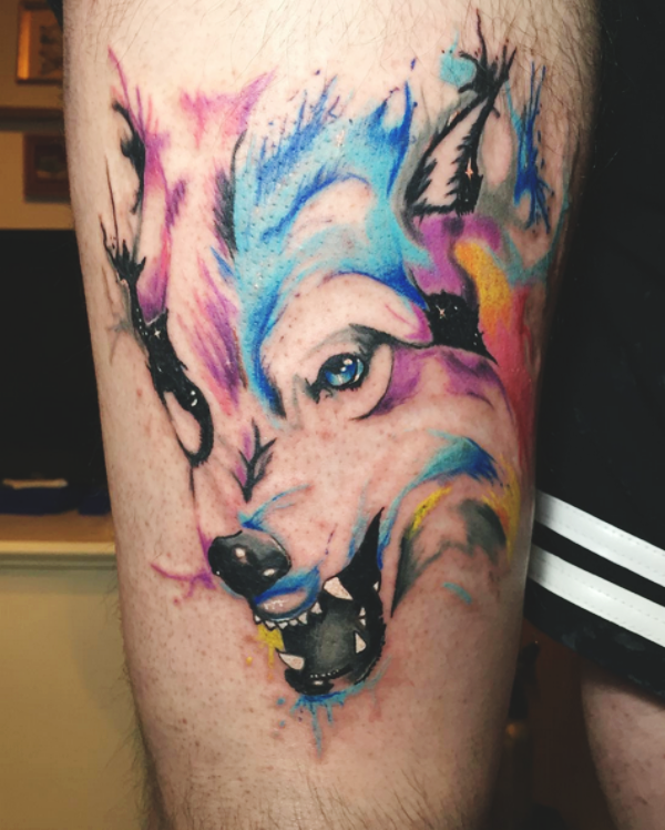 Wolf Tattoo Designs For Men15
