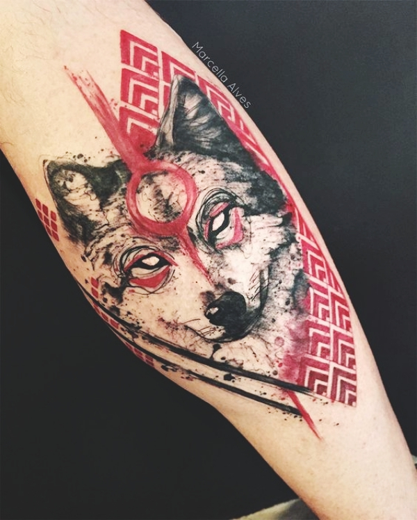 Wolf Tattoo Designs For Men18