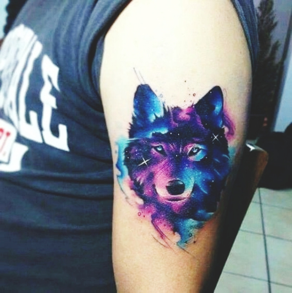 Wolf Tattoo Designs For Men19