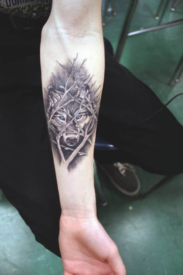 Wolf Tattoo Designs For Men29