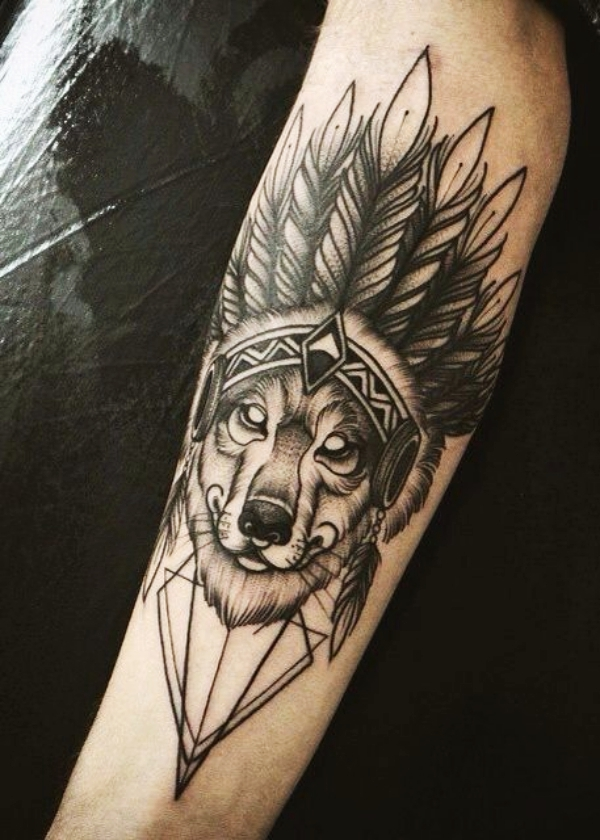 Wolf Tattoo Designs For Men31