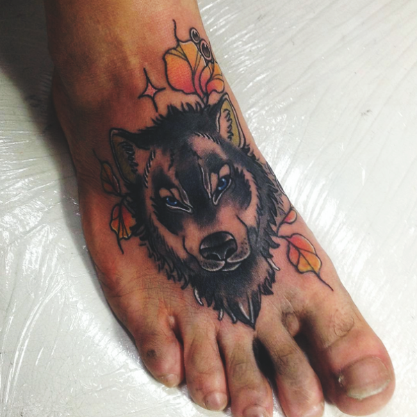 Wolf Tattoo Designs For Men37
