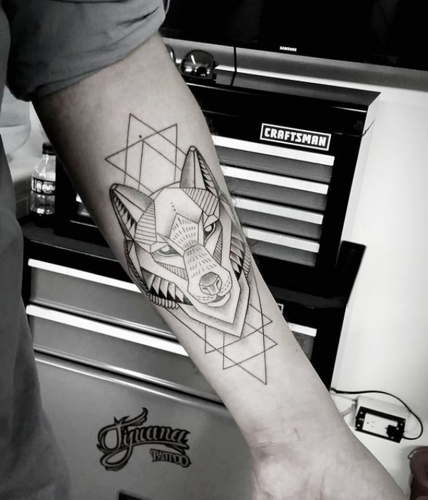 Wolf Tattoo Designs For Men48
