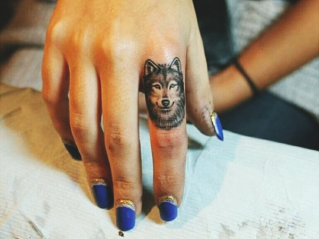 Wolf Tattoo Designs For Men2