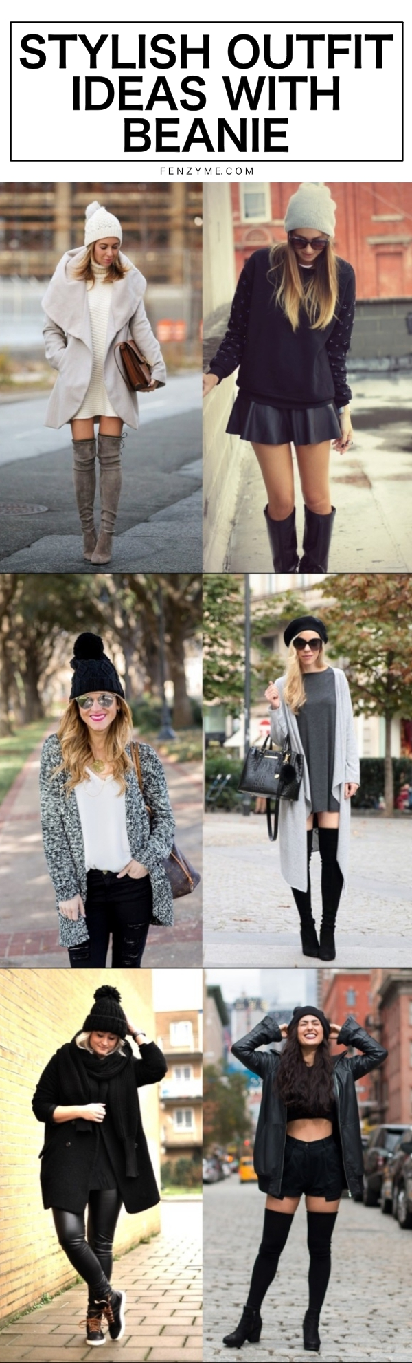 Stylish Outfit Ideas with Beanie