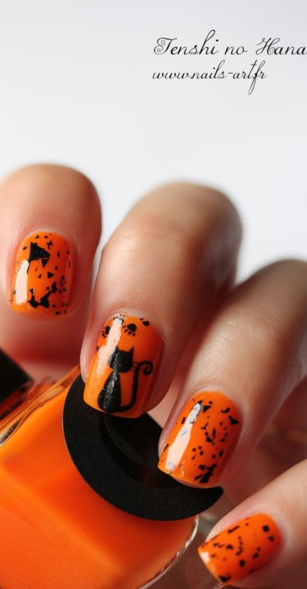 42 Easy Fall Nail Colors and Designs 2017