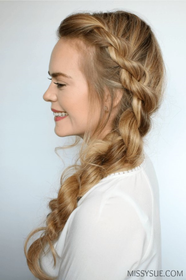 42 Quick and Easy Hairstyles for School Girls