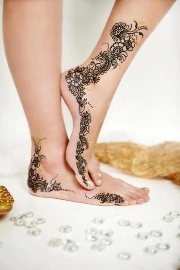 Beautiful Henna Tattoos: 42 Beautiful Henna Tattoo Designs For Women To Try