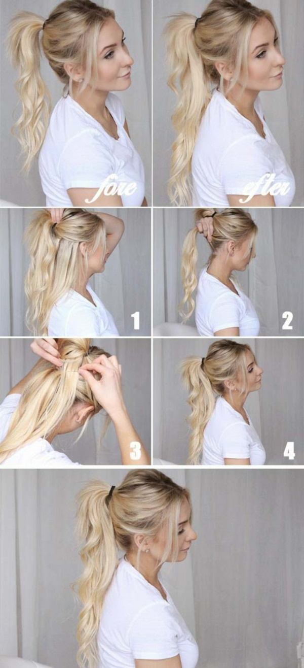 35 Quick and Easy Step by Step Hairstyles for Girls