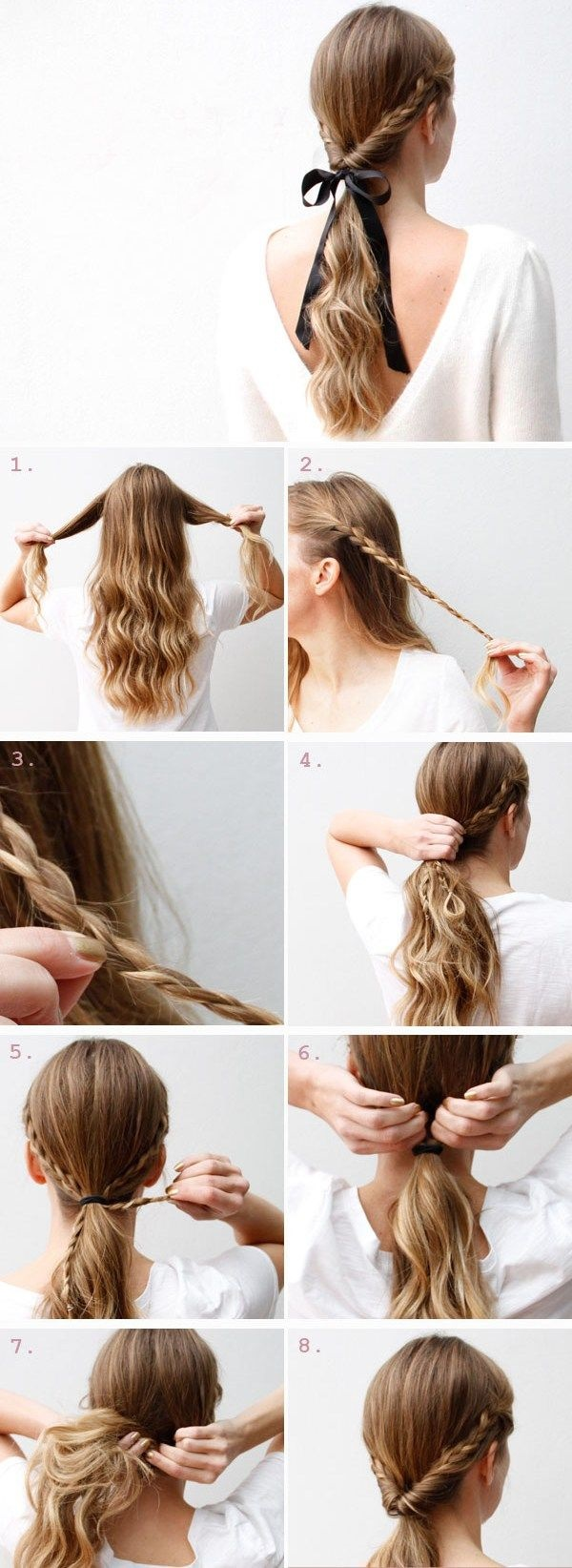 Quick And Easy Step By Step Hairstyles For Girls