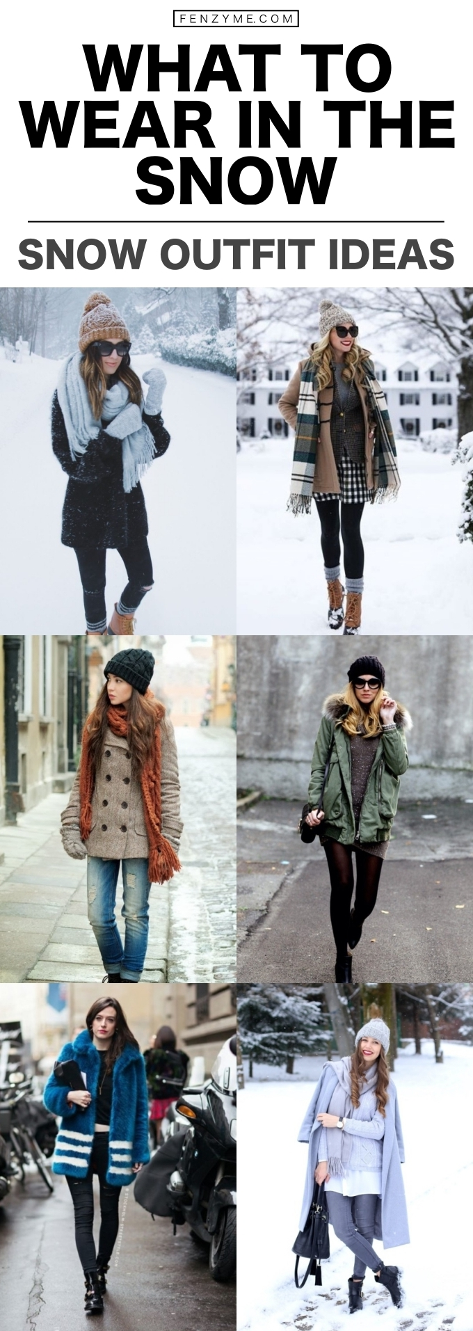 what to wear in the snow