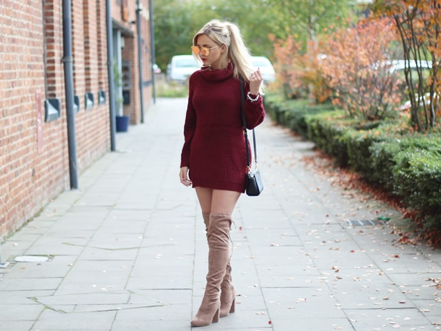 f4707915a80 42 Knee High Boots Outfit to try this Winter 2018