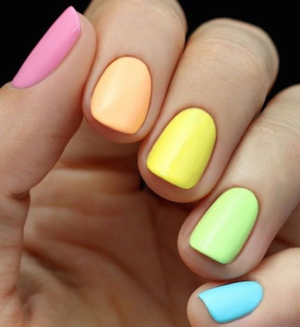 15 Nail Art Designs That Look Better On Short Nails: 40 Easy Spring Nail Designs For Short Nails