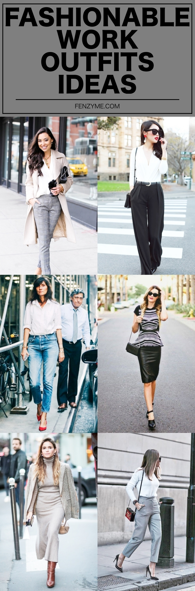 Fashionable Work Outfits Ideas