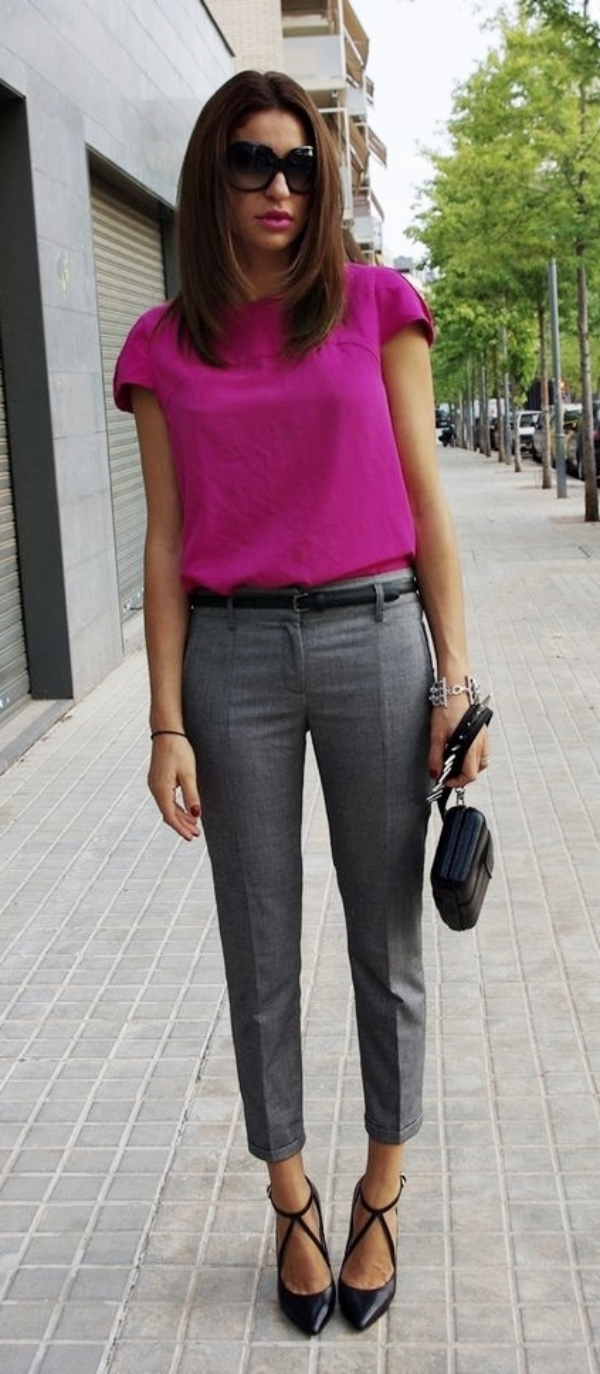 Ways to wear Business Casuals and look non boring