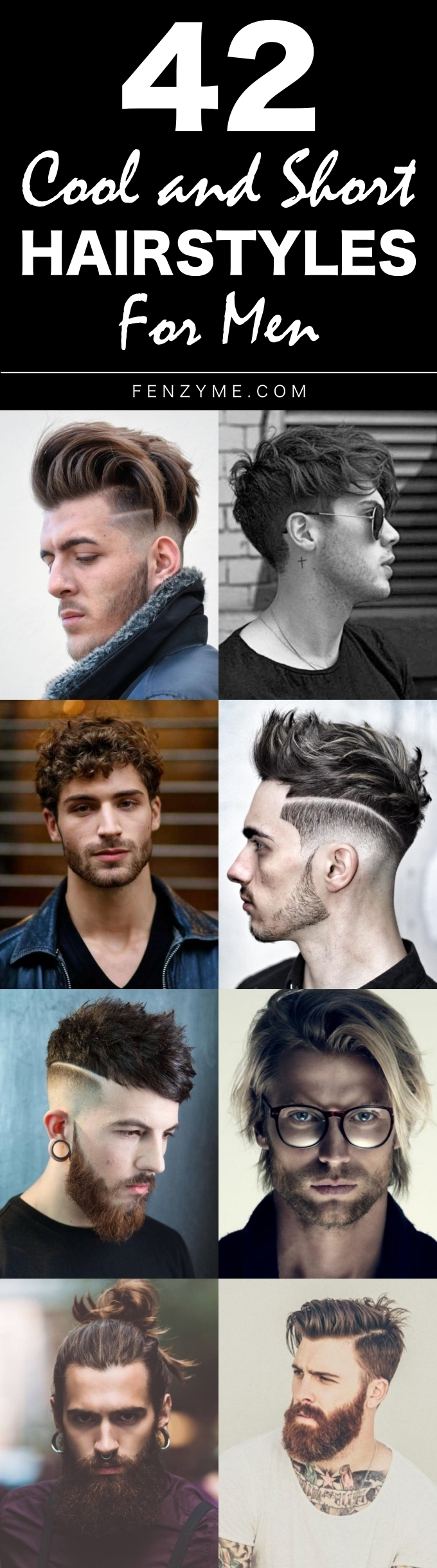 Cool and Short Hairstyles for men