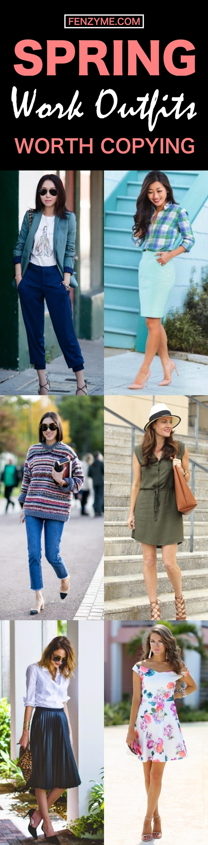 Spring Work Outfits Worth Copying