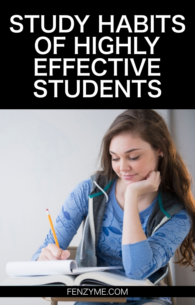Study Habits of Highly Effective Students