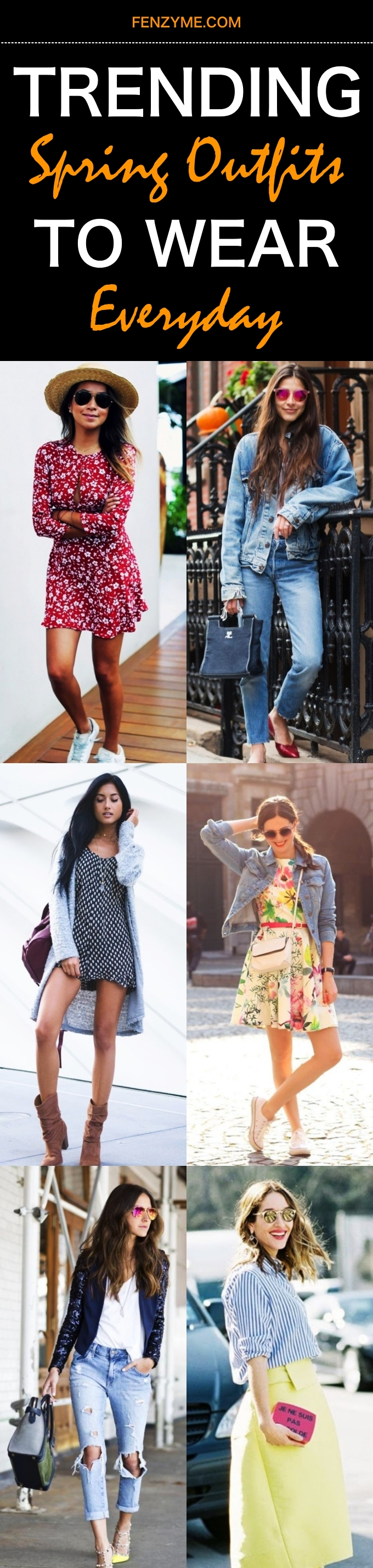 Trending Spring Outfits to wear Everyday