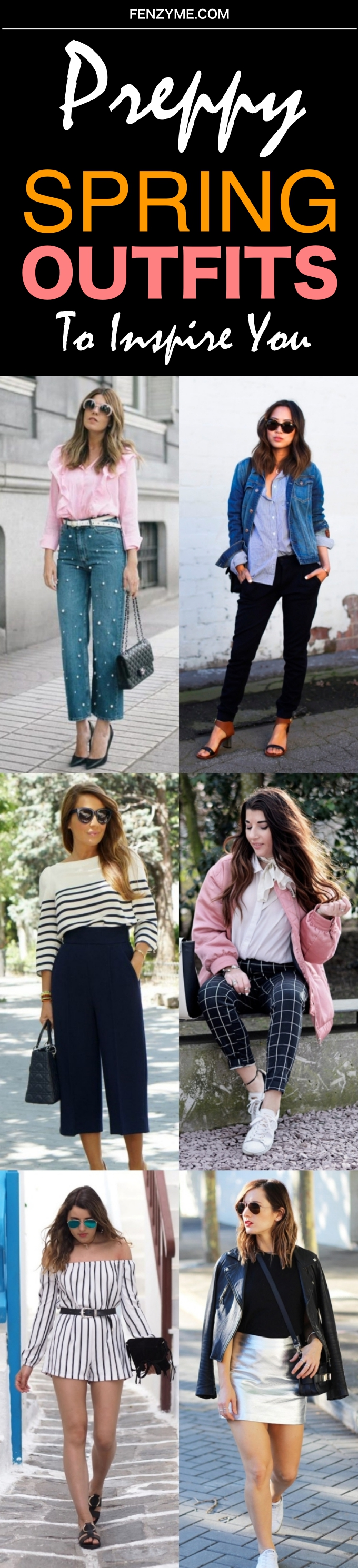 Preppy Spring Outfits to Inspire You