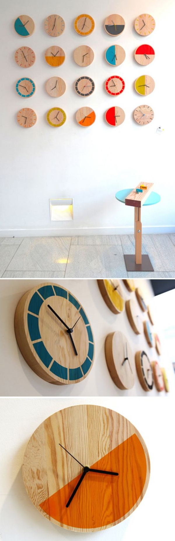 Perfect Clock to match your interior Theme