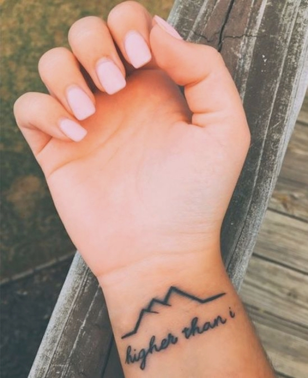 Small but Motivational Quote Tattoos