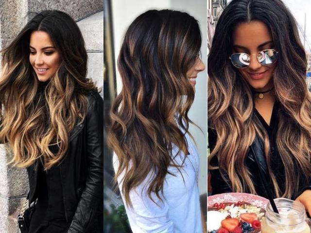 How To Balayage Highlights On Dark Hair