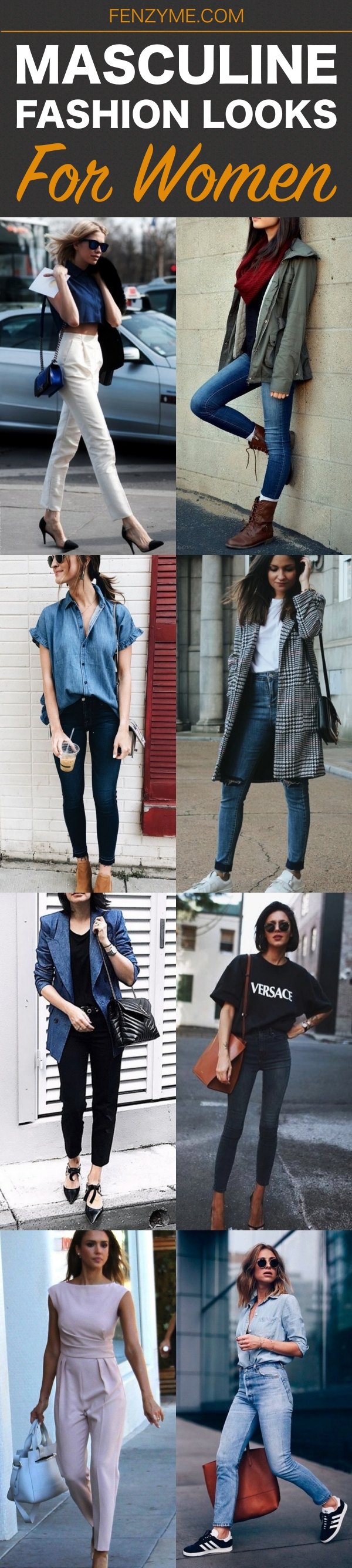 Masculine Fashion Looks for Women