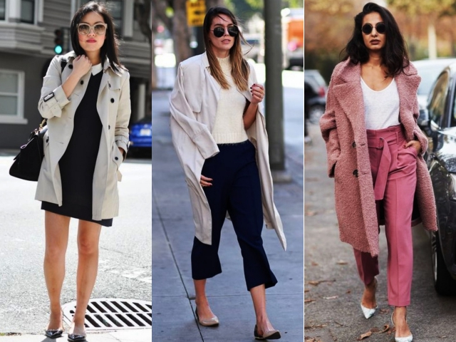 Casual Work Outfits with Flats