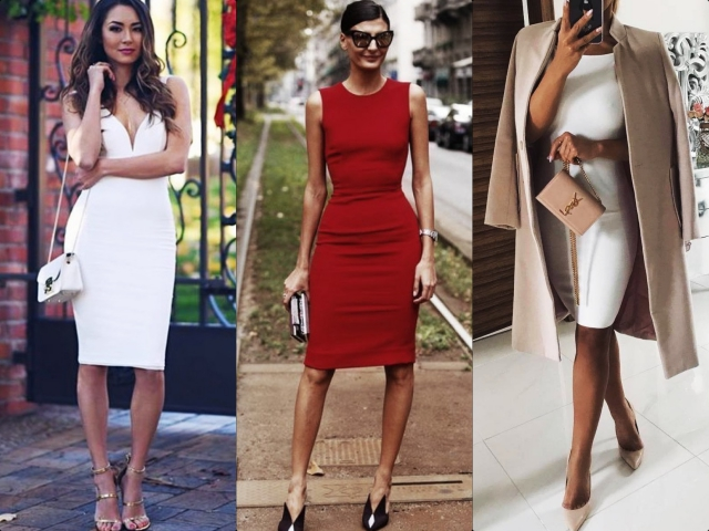 Pencil Dress Outfits To Wear To Work