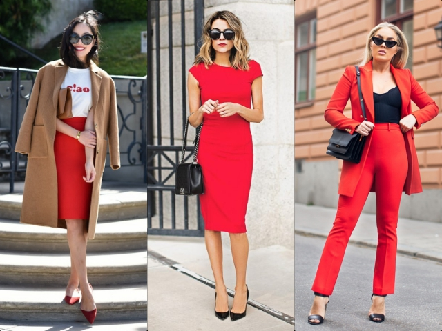 Catchy Ways to Wear Red for Work
