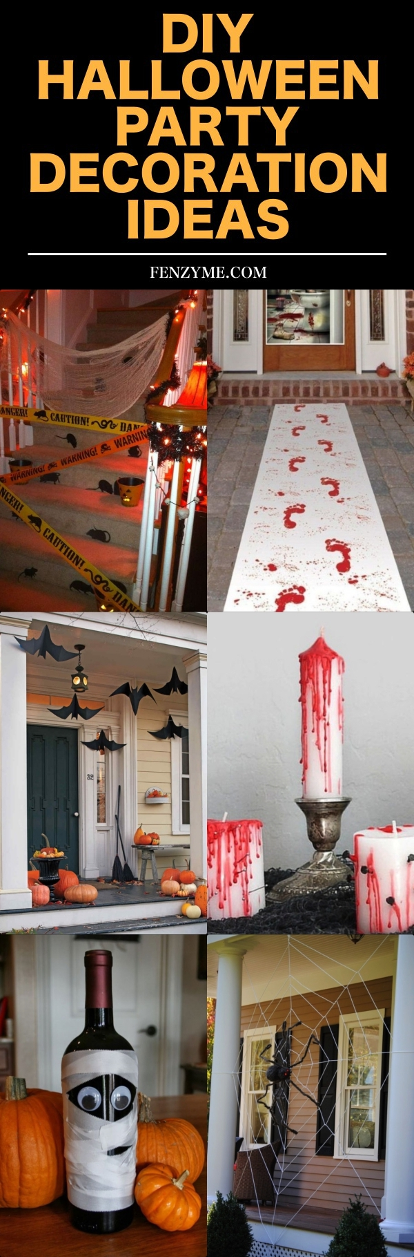 DIY HALLOWEEN PARTY DECORATION IDEAS