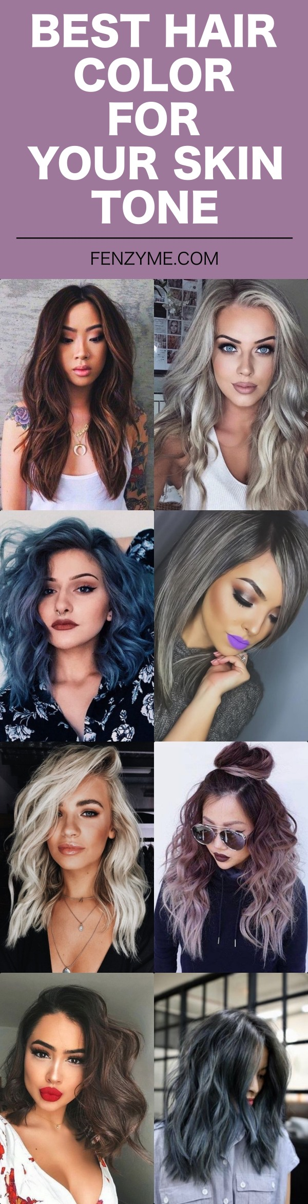 40 Best Hair Color For Your Skin Tone