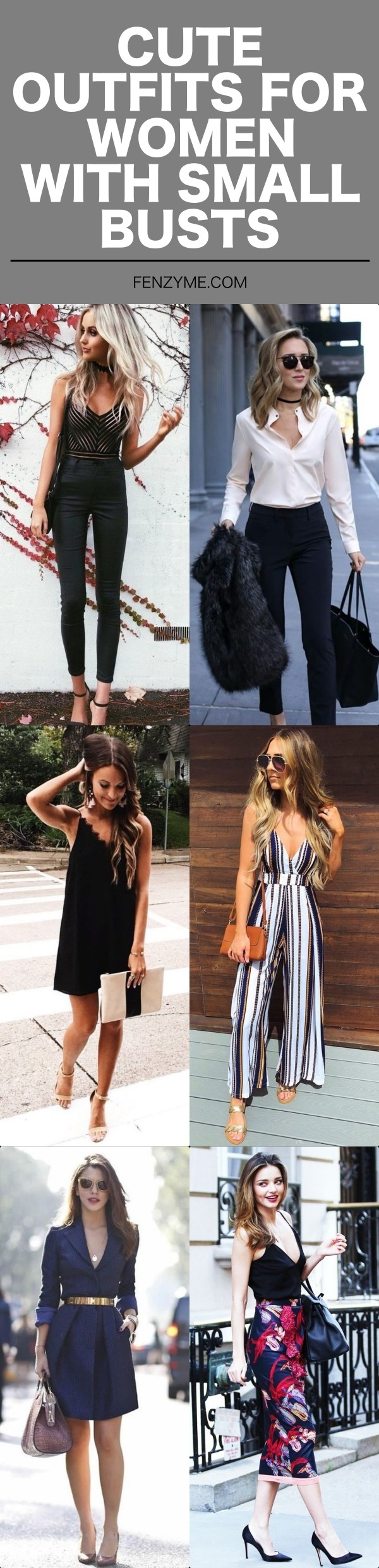 Cute Outfits for Women with Small Busts