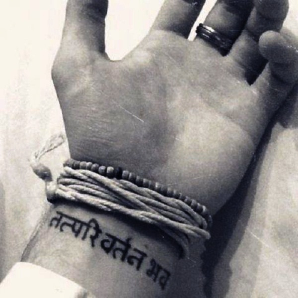 Powerful Sanskrit Tattoo Ideas with Deep Meanings