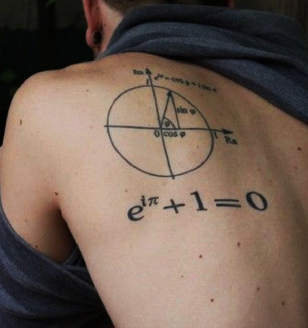 Small Math and Grammar Tattoo Designs with Deep Meanings